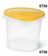 View: 5726 Round Storage Container Pack of 6